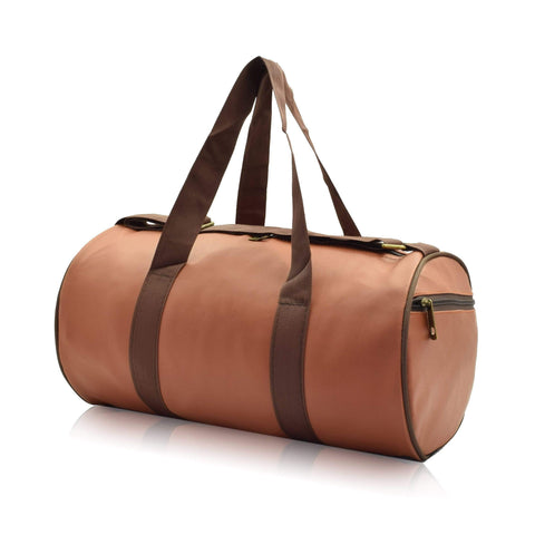 Crinds designer Compact Size Season Brown Duffel Bag Men Women Ladies Girls duffel bag