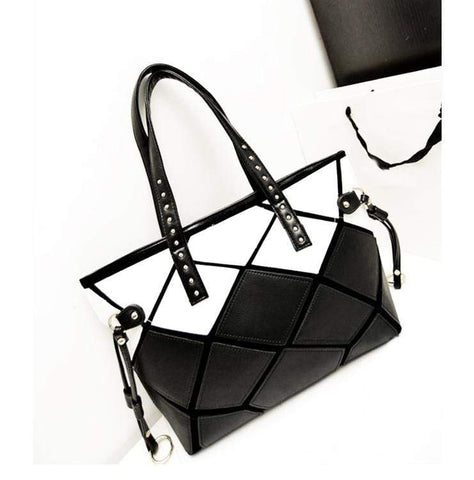 Crinds designer Crinds Prism Cut Fashion Handbag Men Women Ladies Girls Handbags