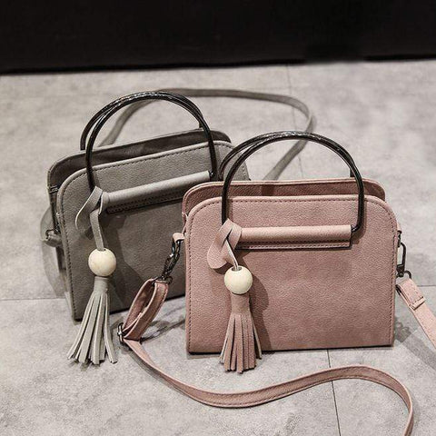 Crinds designer Crinds Retro Crossbody Tassel Fashion Handbag Men Women Ladies Girls Handbags