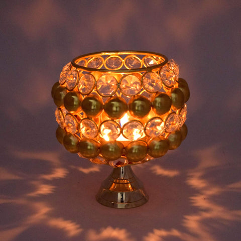 Crinds designer Crinds Roi Crystal Candle Lamp Men Women Ladies Girls