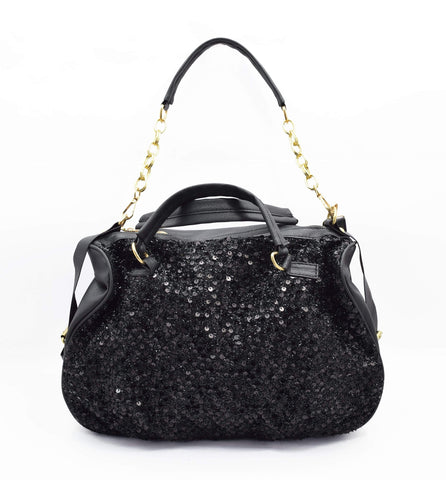 Crinds designer Crinds Sparkling Sequence Fashion Handbag Men Women Ladies Girls Handbags