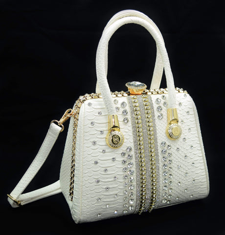 Crinds designer Crinds White Ethnic Designer Bag Trapezoid Men Women Ladies Girls Handbags