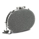 Crinds designer Elegent classic diamond Black clutch bag Men Women Ladies Girls Clutch