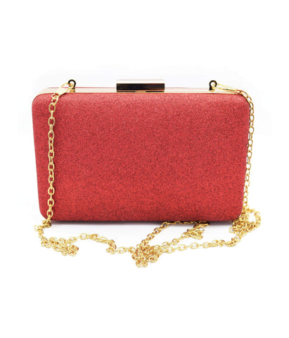 Crinds designer Elegent shimmer hand & Shoulder carry clutch bag Men Women Ladies Girls Clutch