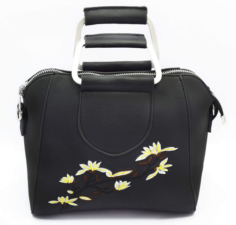 Crinds designer Embroidery detailed small handbag Men Women Ladies Girls Handbags