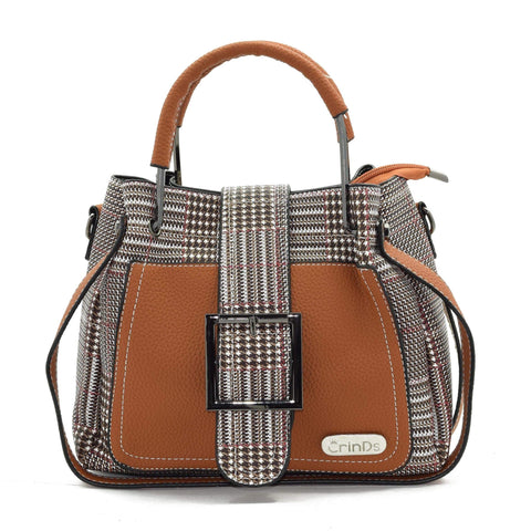 Crinds designer Freezy Red Line Check Satchel Hobo Men Women Ladies Girls Handbags