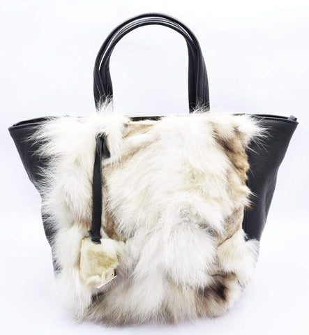 Crinds designer Kitty fur handbag Men Women Ladies Girls Handbags