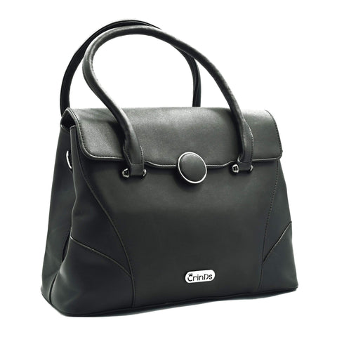 Crinds designer Luxury Formal Black Handbag Men Women Ladies Girls Handbags