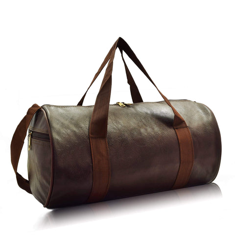 Crinds designer Medium Size Dark Brown Duffel Bag Men Women Ladies Girls duffel bag