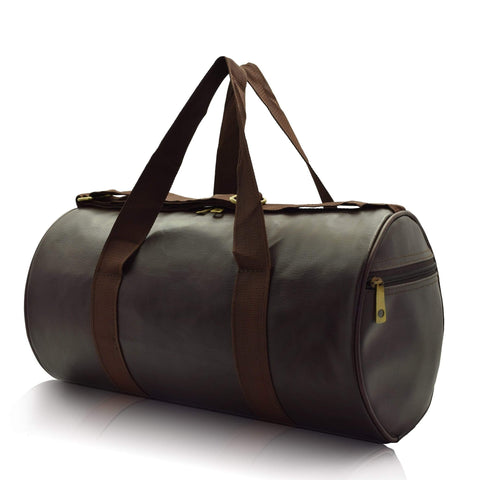 Crinds designer Medium Size Shiny Brown Duffel Bag Men Women Ladies Girls duffel bag