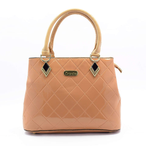 Crinds designer Nude Shine Check Party Handbag Men Women Ladies Girls Handbags