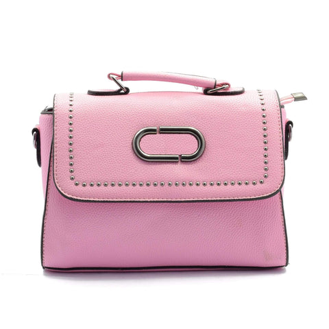 Crinds designer Pink Flap Sling Handbag Men Women Ladies Girls Handbags