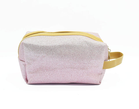 Crinds designer Pink Shimmer Multi-Purpose Pouch Men Women Ladies Girls Pouch