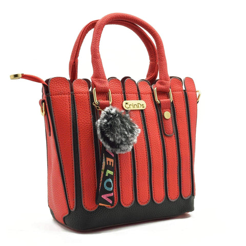 Crinds designer Strips Fence Red handbag Men Women Ladies Girls Handbags
