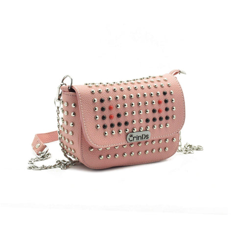 Crinds designer Stud Design Pink Small Sling Men Women Ladies Girls sling