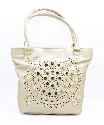 Crinds designer Studded Chakras Trendy Handbag Men Women Ladies Girls Handbags