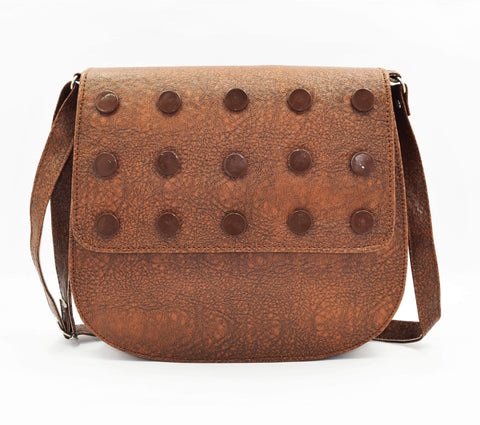 Crinds designer Studded Trendy Flap Sling Bag Men Women Ladies Girls Handbags