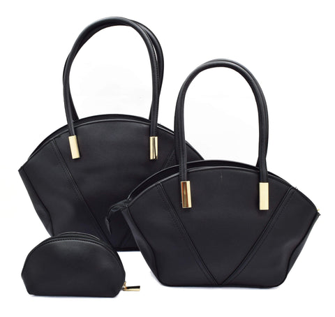 Crinds designer Trendy Elegant set of 3 Handbags Men Women Ladies Girls Handbags
