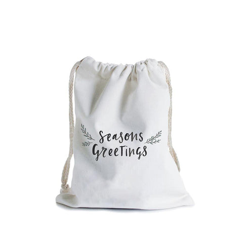 Seasons Greetings Canvas Bag