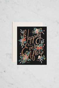 RIFLE PAPER CO - SINGLE CARD - ETERNAL HAPPILY EVE