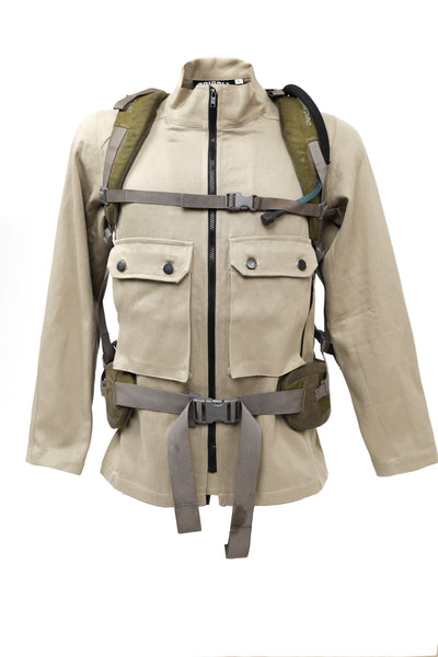 Backpack Jacket, Flat Brown.