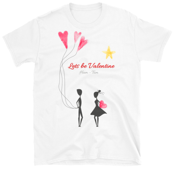 Short-Sleeve Valentine Tee - FREE SHIPPING