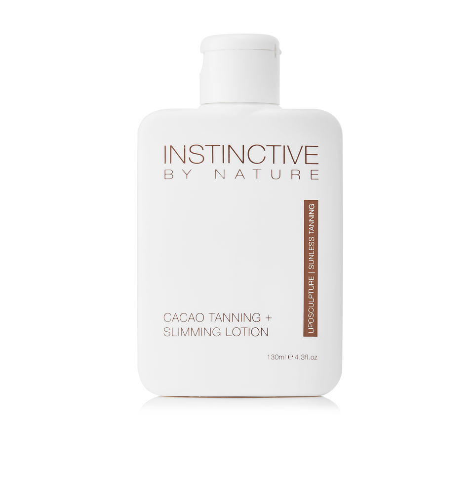 Instinctive by Nature Cacao Tanning + Slimming Lotion | Liposculpture | Sunless Tanning - THE SKIN CO.
