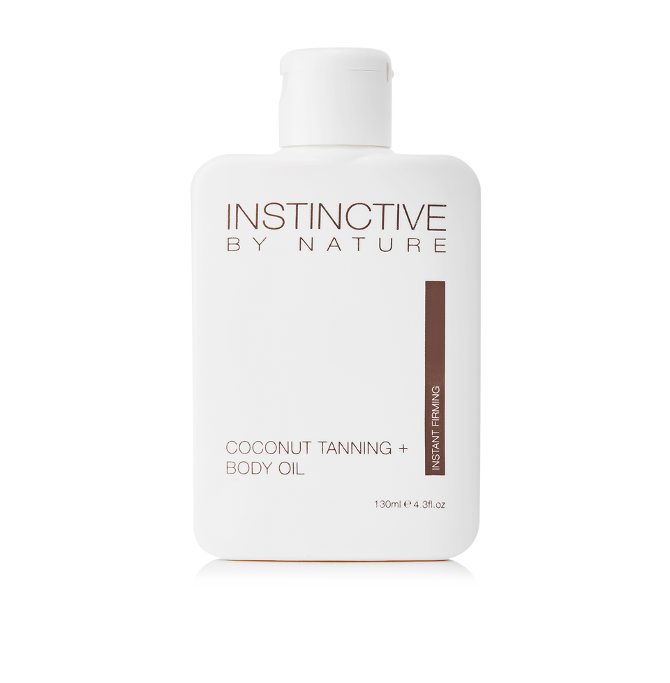 Instinctive by Nature Coconut Tanning + Body Oil | Instant Firming - THE SKIN CO.