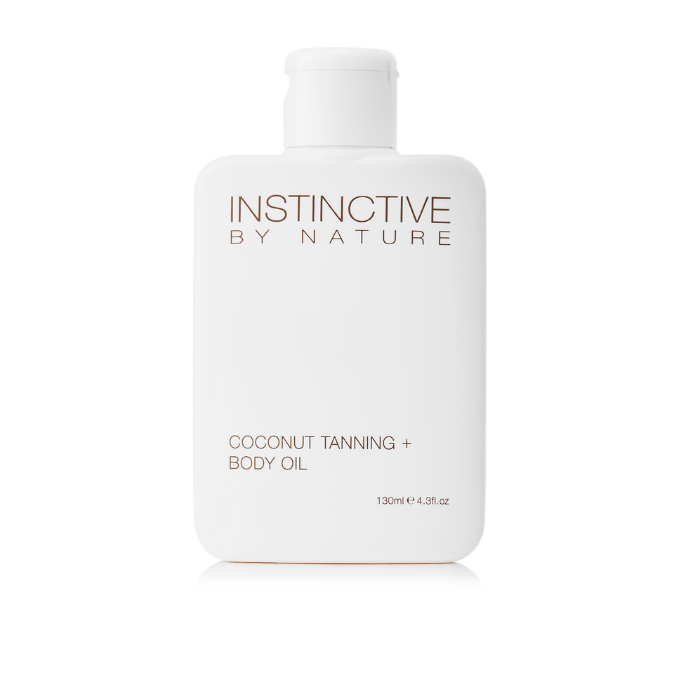 Instinctive by Nature Coconut Tanning + Body Oil - THE SKIN CO.