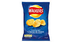 Cheese & Onion Walkers Crisps