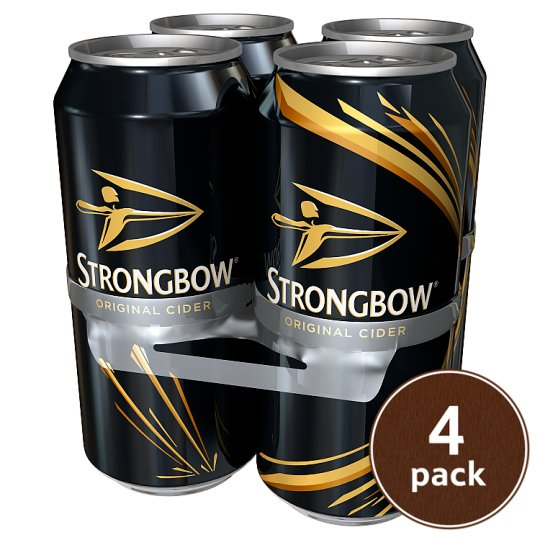 4 x Strongbow Cider (440ml) - Deliver Me Home Delivery