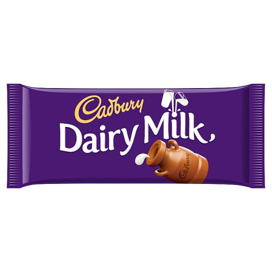 Cadbury Dairy Milk Chocolate Bar 110G - Deliver Me Home Delivery