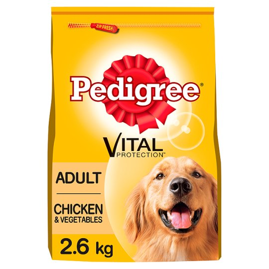 Pedigree Chicken Dry Dog Food 2.6Kg