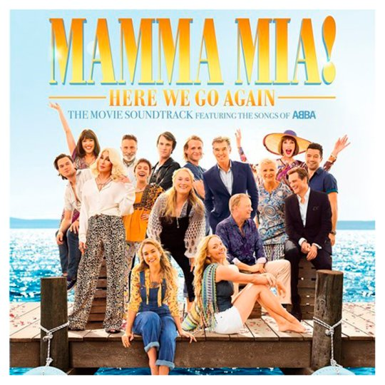 Various Artists Mamma Mia: Here We Go Again Cd