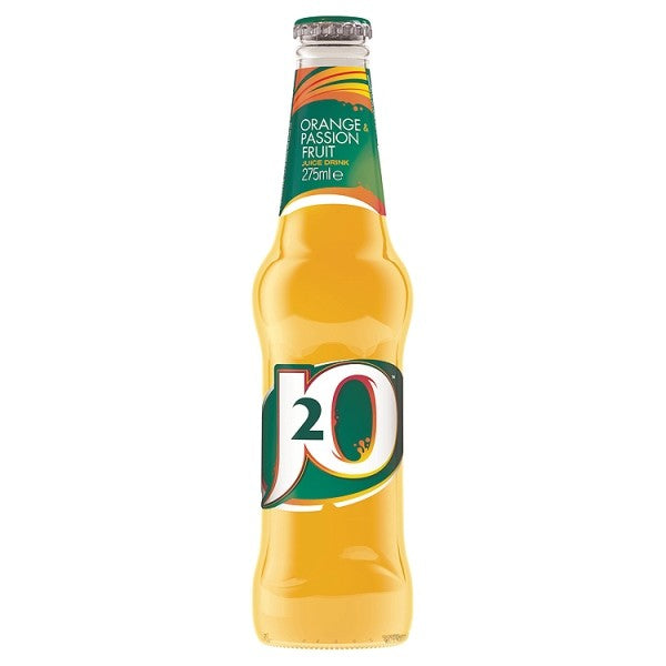 4 Bottles of J2O Orange & Passion Fruit - Deliver Me Home Delivery