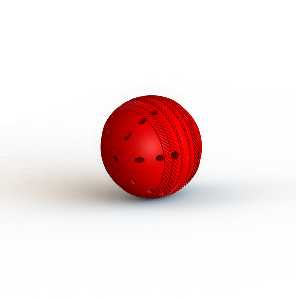 Leverage SpingBall- Revolutionary Batting Practice Tool which deviates on throwing straight