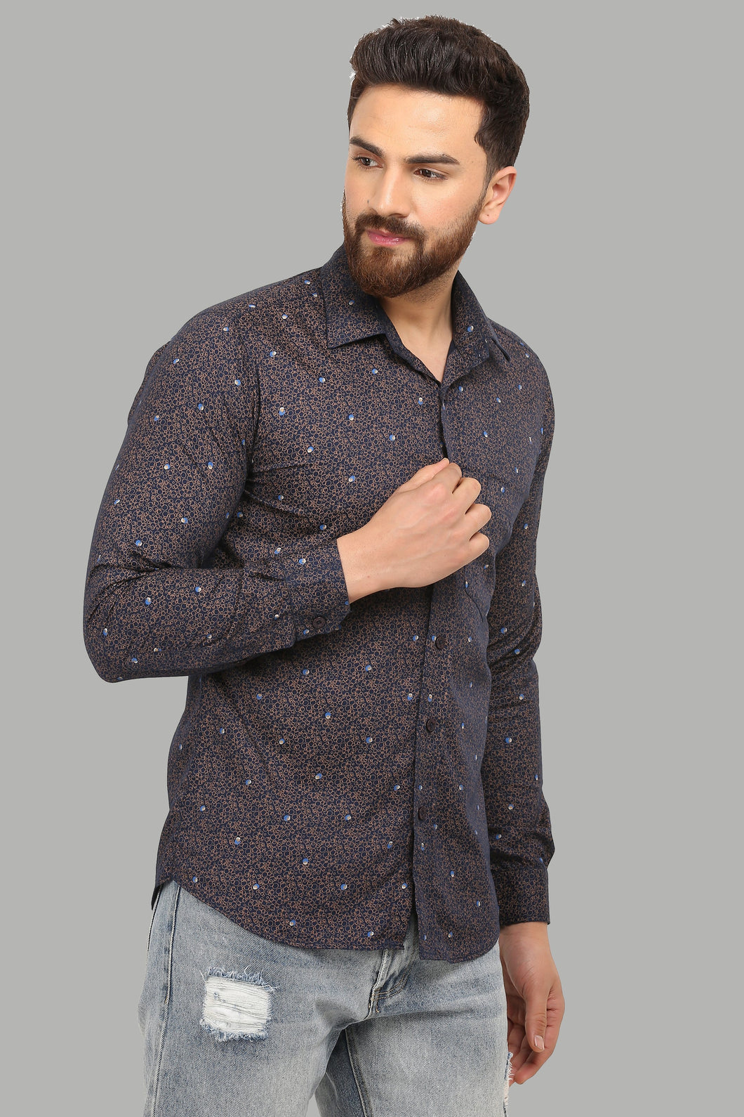 Paushaak New Designer Slim Fit Shirt (PKA17)