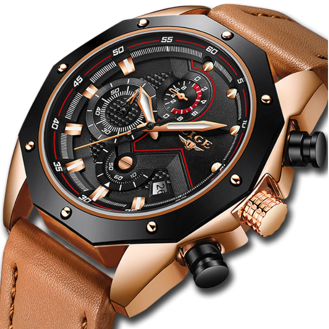 Premium Mens Gentlemen Edition Luxury Watch (PK04)