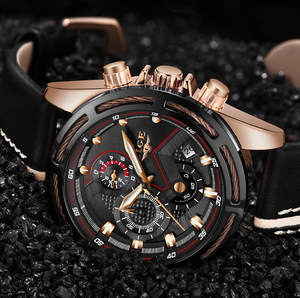 Premium Mens Gentlemen Edition Luxury Watch (PK06)