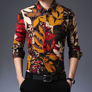 The Men Premium New Designer Slim Fit Shirt (TM002)