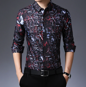 The Men Premium New Designer Slim Fit Shirt (TM003)