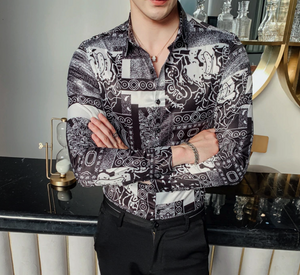 The Men Premium New Designer Slim Fit Shirt (TM004)