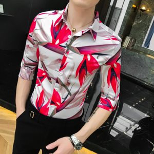 The Men Premium New Designer Slim Fit Shirt (TM013)