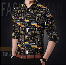 The Men Premium New Designer Slim Fit Shirt (TM014)