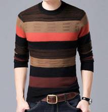 Super Premium Winter Wool Striped Design Sweater
