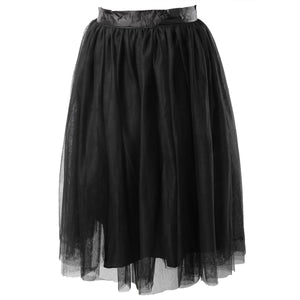 Plus size Chiffon Female Tutu - Courbee Boutique