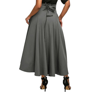 Plus Size High Waist Long Maxi Skirt - Courbee Boutique