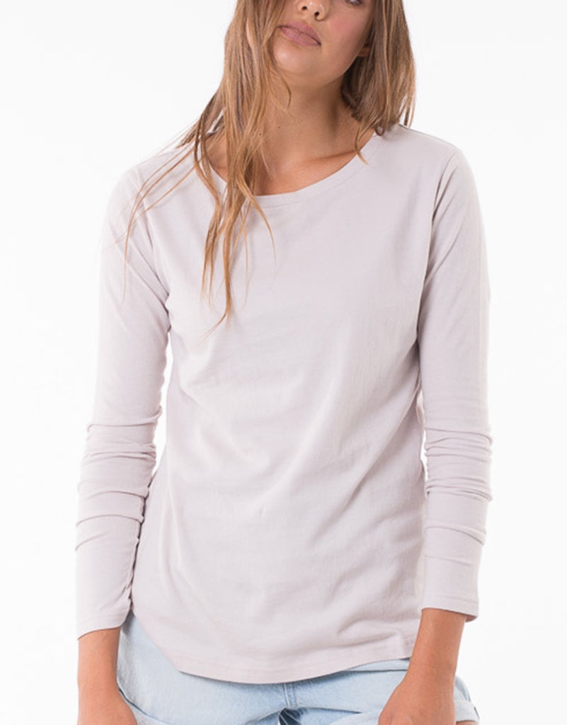 Silent Theory Kara Long-sleeve - white