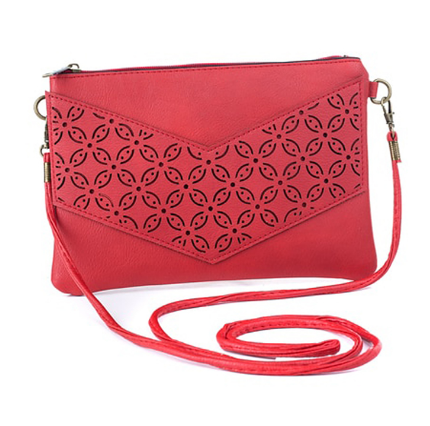 Freez Sling Bag Red with handle