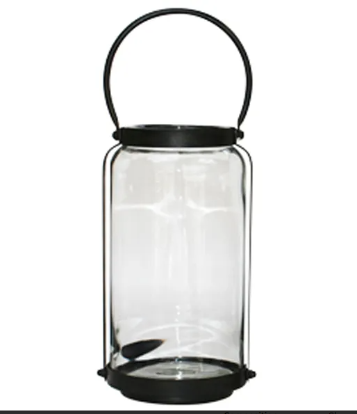 French Country Cabin Lantern Tall